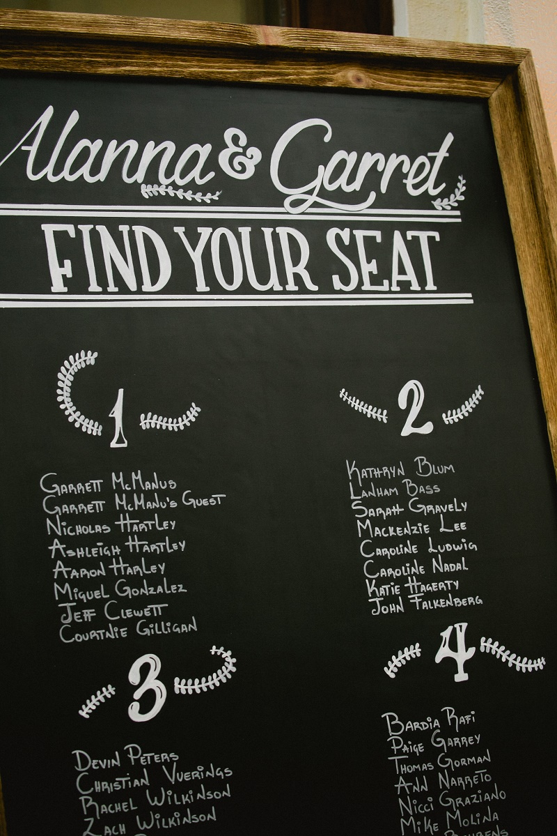 chalkboard seating assignments weddings at cabo del sol elena damy destination wedding planners mexico chris plus lynn photo