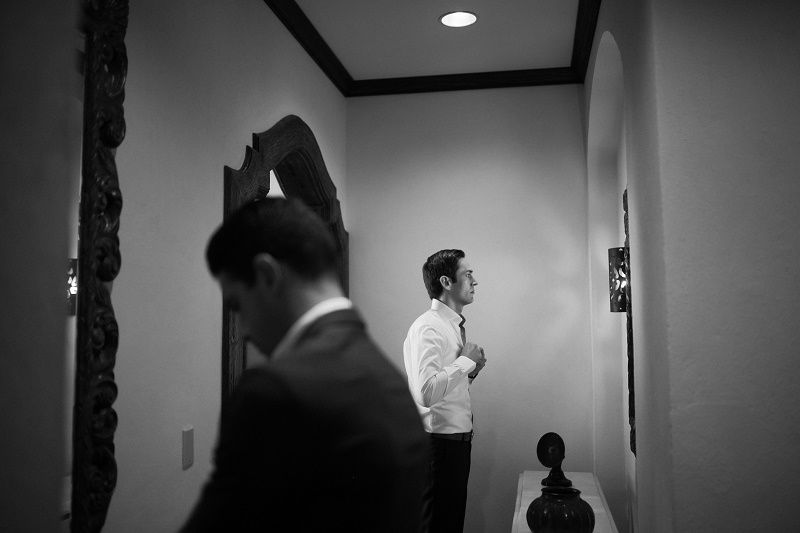 groom dressing bw photo weddings at cabo del sol elena damy destination wedding planners mexico chris plus lynn photo