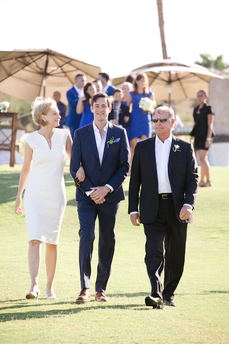 grooms entrance ceremony processional cabo weddings mexico destination weddings elena damy wedding planners chris plus lynn