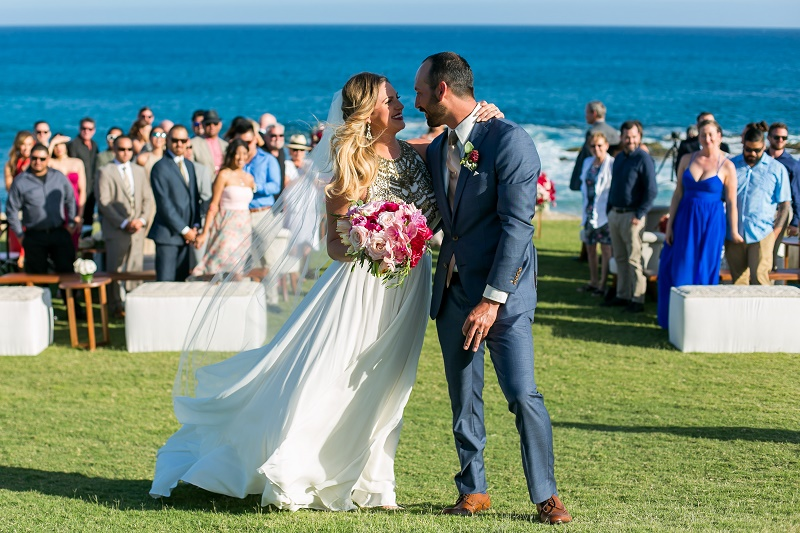 recessional photos cabo del sol weddings baja