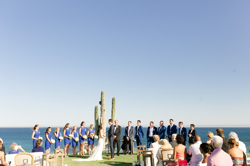 wedding ceremony from a distance weddings at cabo del sol elena damy destination wedding planners mexico chris plus lynn photo