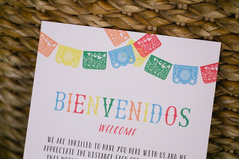 welcome bag notes destination weddings elena damy destination weddings mexico chris plus lynn photo