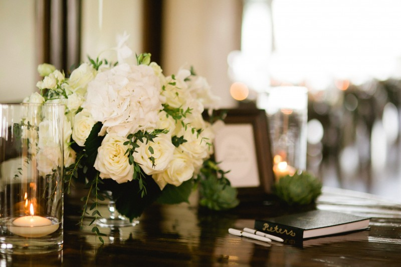 white rose centerpieces weddings at cabo del sol elena damy destination wedding planners mexico chris plus lynn photo