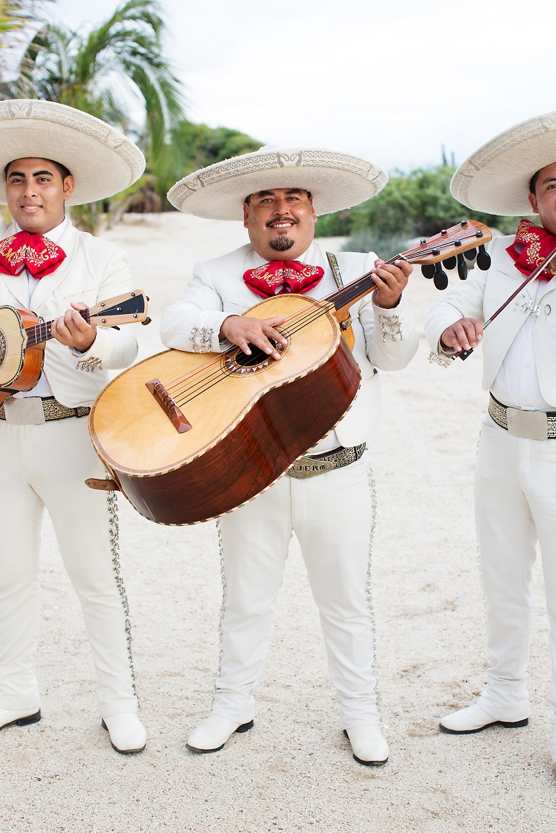 Mariachi bands baja mexico elena damy destination wedding planners 2