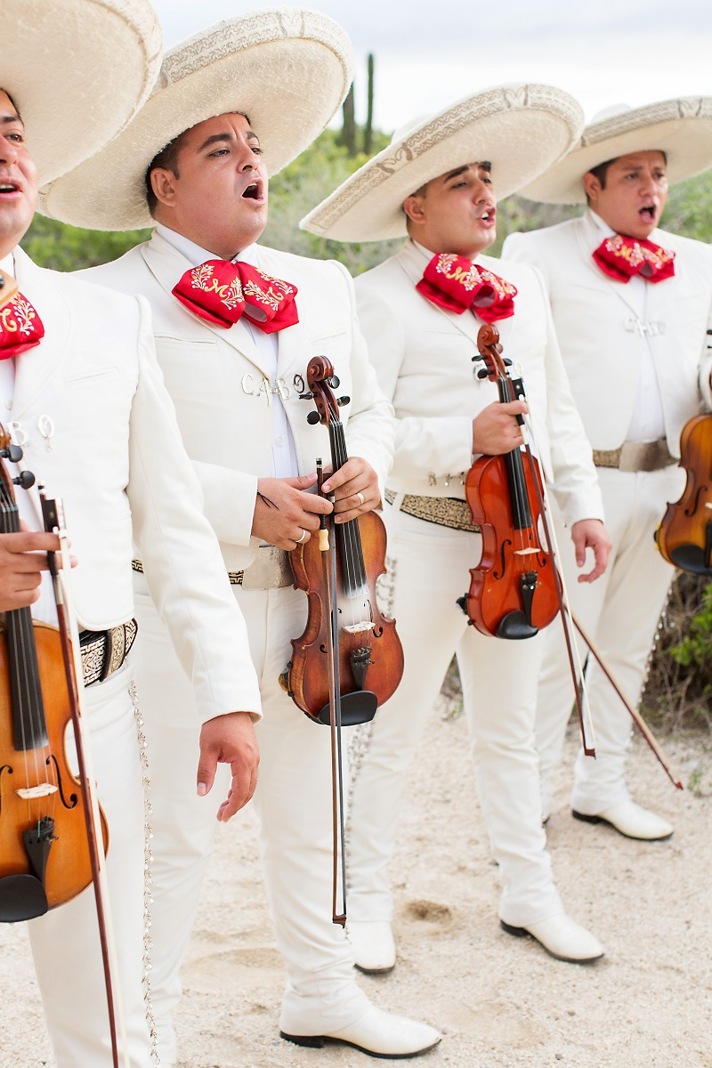 Singing Mariachis Baja California Mexican Music for Weddings Elena Damy Destination Wedding Planners Cabo