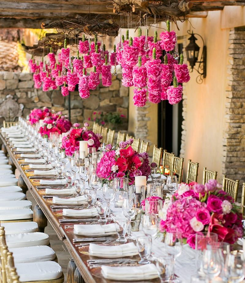 Elena Damy - A Pretty Pink Floating Flower Arrangement - Elena Damy