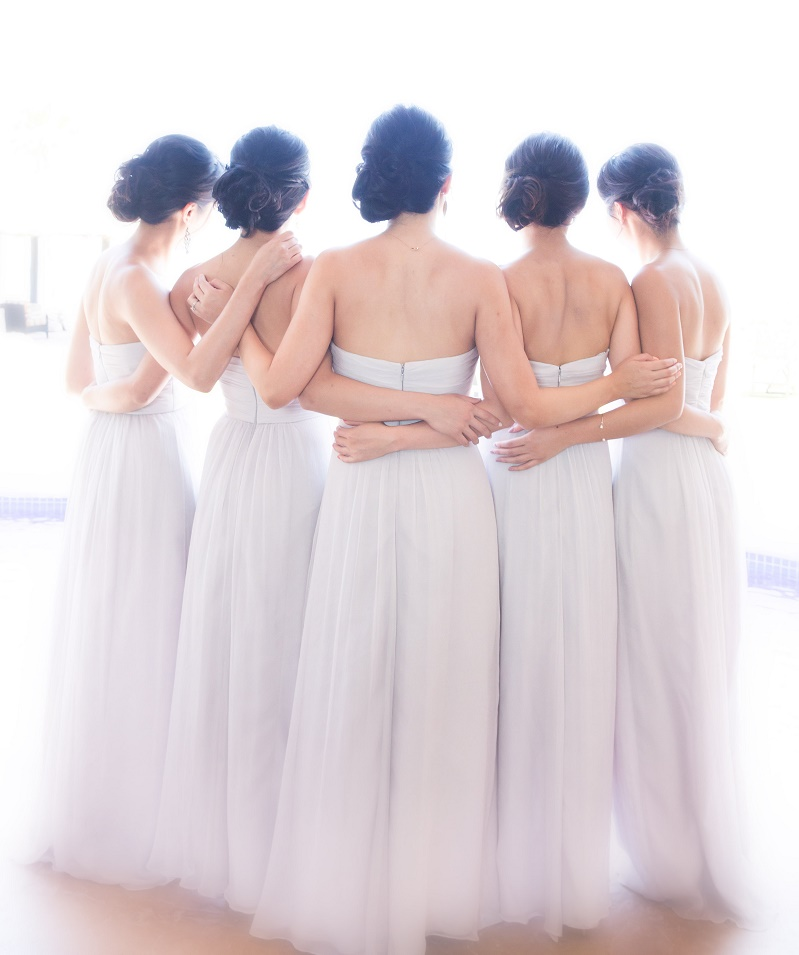 bridesmaids find your tribe elena damy destination wedding planners los cabos mexico