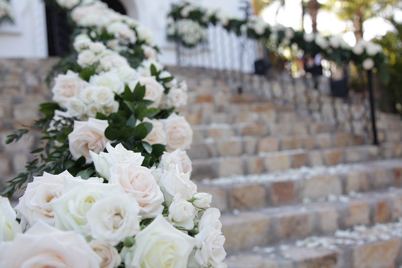 ceremony steps mexican chapel weddings Cabo Weddings One and Only Palmilla Elena Damy Event Design Cabo Chris Plus Lynn Photo