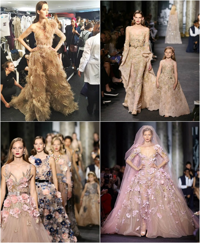 elie saab fall winter 2017 wedding gown inspiration impressions of ny paris fashion week elena damy