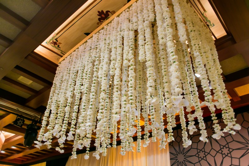 floral chandeliers elena damy event designers mexico los cabos weddings ana and jerome photo
