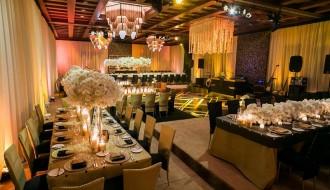 gold and black gatsby wedding design elena damy destination weddings floral design mexico 800
