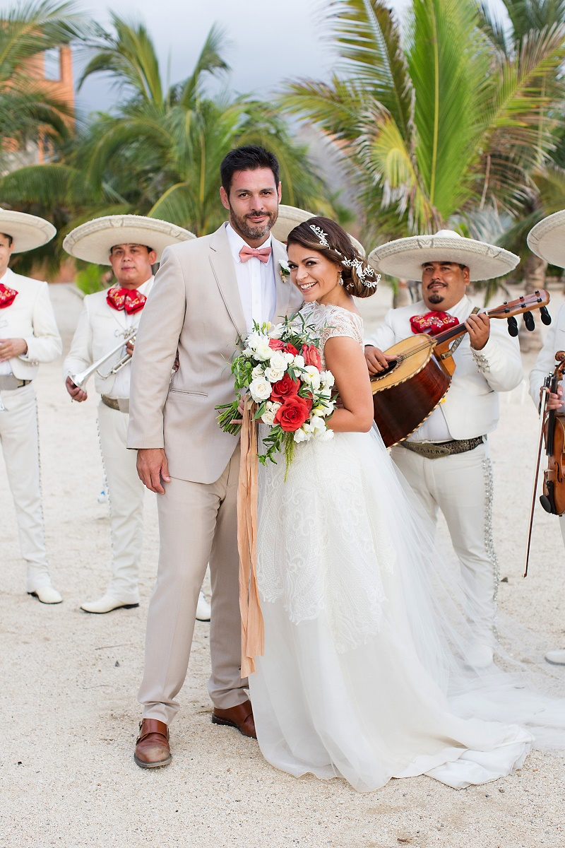 mexico weddings mariachi bands for hire cabo san lucas weddings elena damy wedding planners