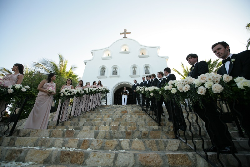 wedding ceremony Cabo Weddings One and Only Palmilla Elena Damy Event Design Cabo Chris Plus Lynn Photo
