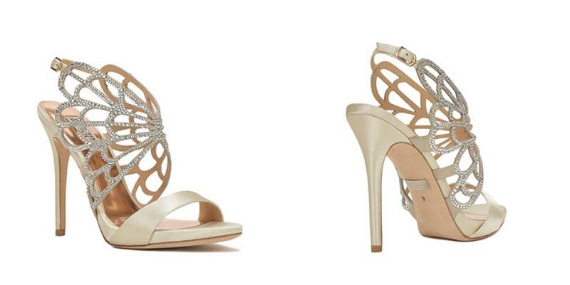 Elena Damy - Newlyn Embellished Evening Shoe Badgley Mischka Wedding ...