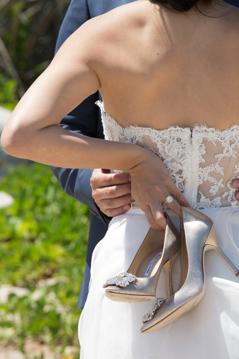 ShoesdayTuesday Bridal Shoes Wedding Heels Elena Damy destination wedding planners 4 eyes photo