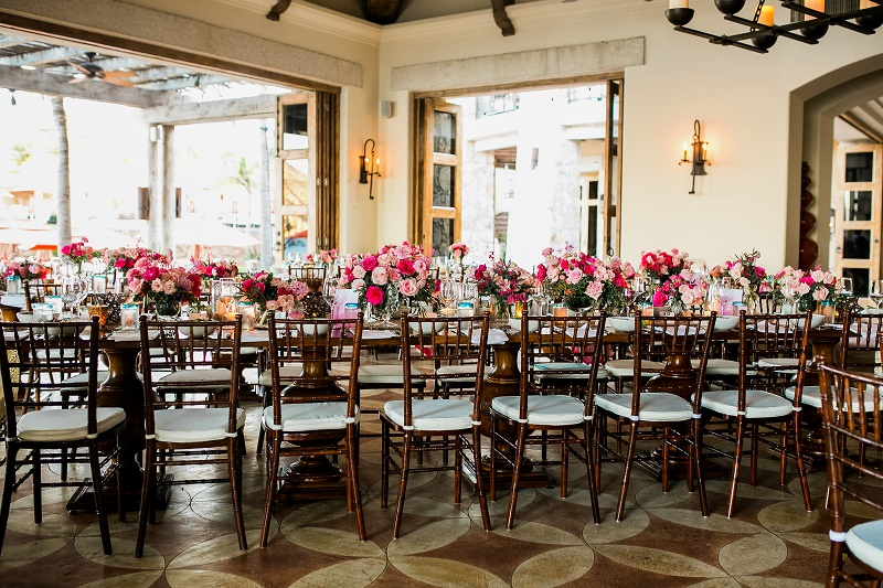 pink and gold wedding cabo san lucas mexico destination weddings elena damy floral design