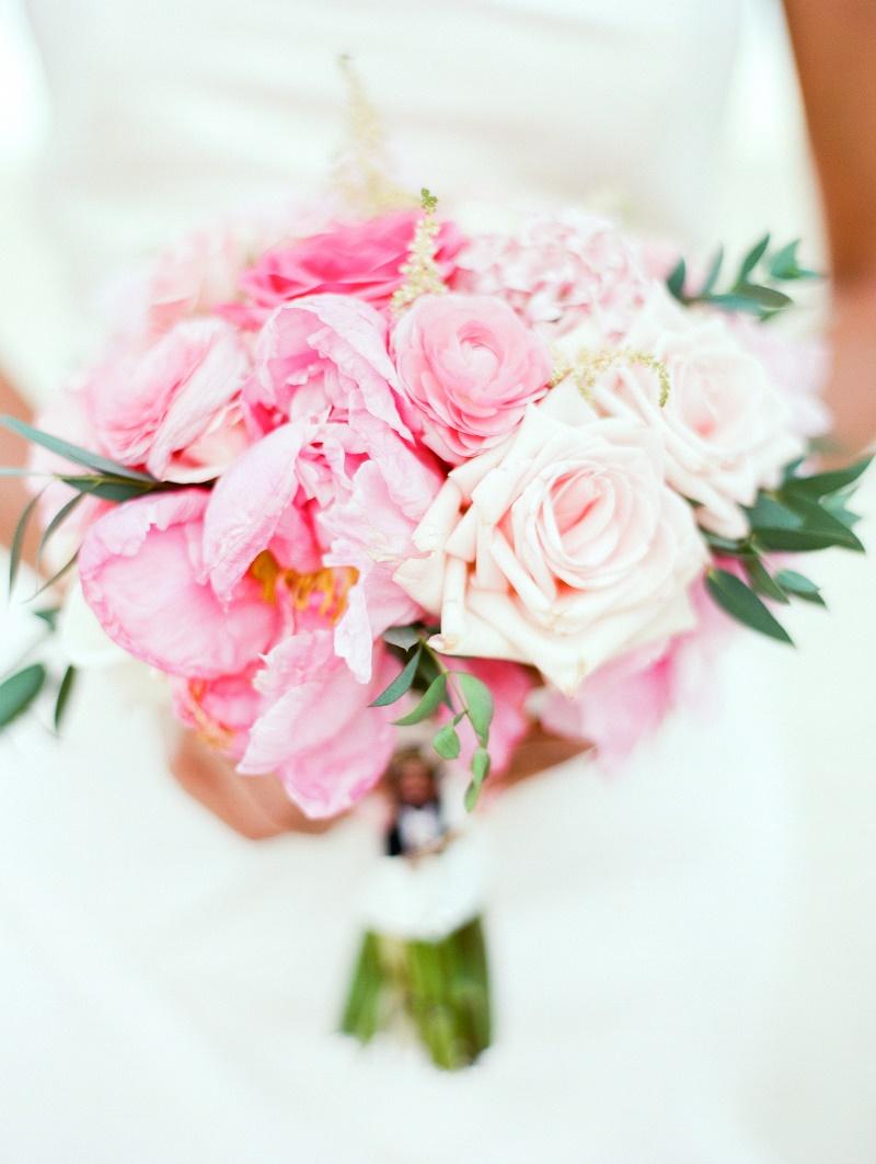 pink bridal bouquet wedding cabo san lucas mexico destination weddings elena damy floral design