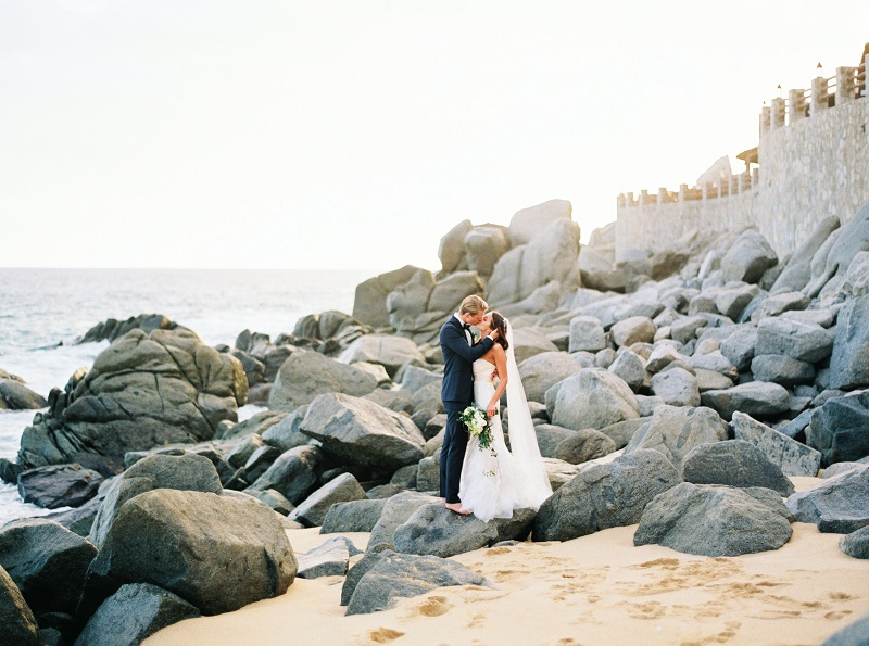 bride-and-groom-photos-on-the-rocks-mexico-coastal-weddings-los-cabos-destination-weddings-ashley-bosnick-photography
