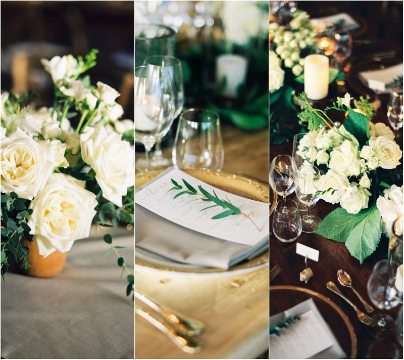 floral-details-gold-rimmed-chargers-olive-sprigs-placesettings-natural-flowers-cabo-wedding-inspiration-elena-damy-event-designers