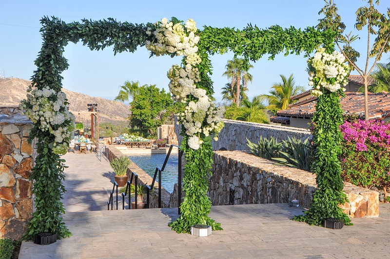 floral-entrance-arch-to-wedding-elena-damy-floral-and-event-design-mexico-cabo-weddings