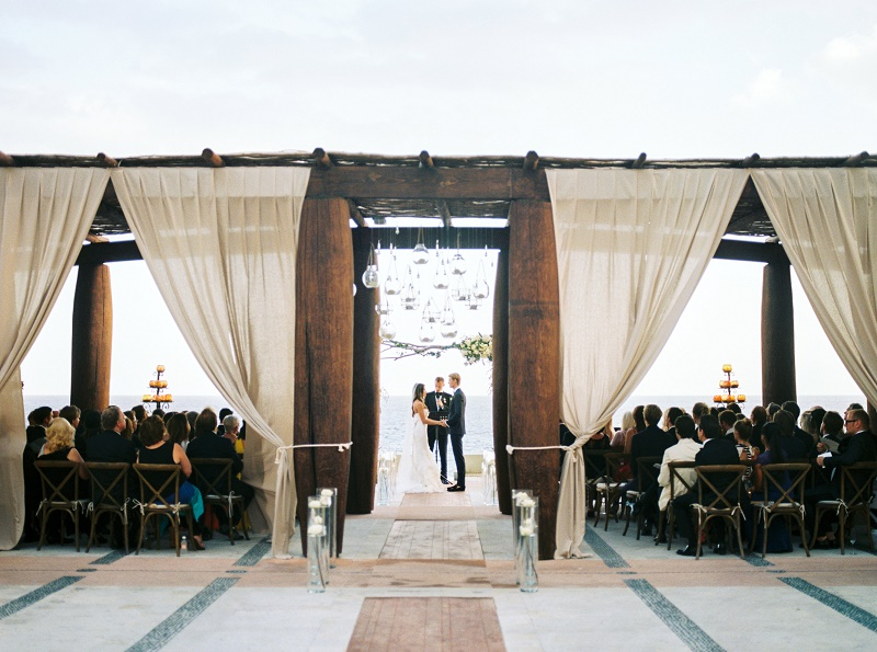 Outdoor Wedding Ceremonies Cabo San Lucas Venues Pedregal Los Planners Elena Damy