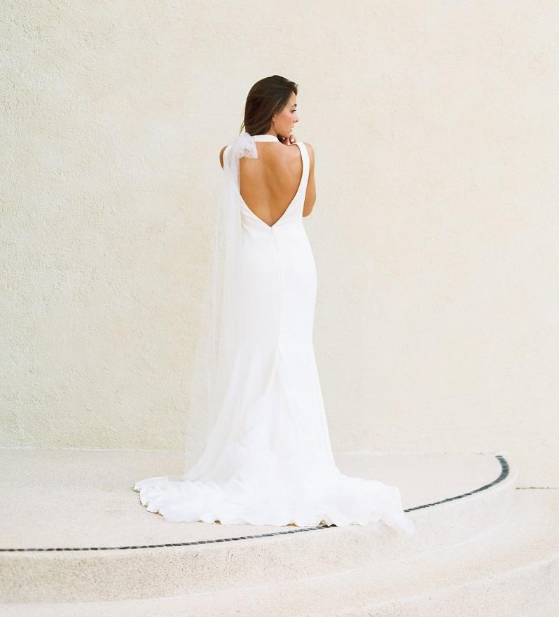 Elena Damy - second-wedding-gown-vera-wang-backless-gowns-beach ...