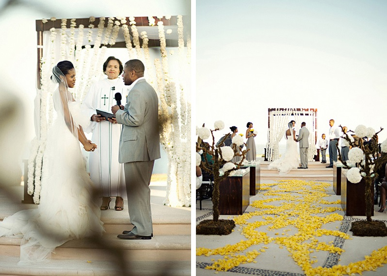 yellow-and-white-wedding-ceremony-outside-las-ventanas-meka-and-shon-17
