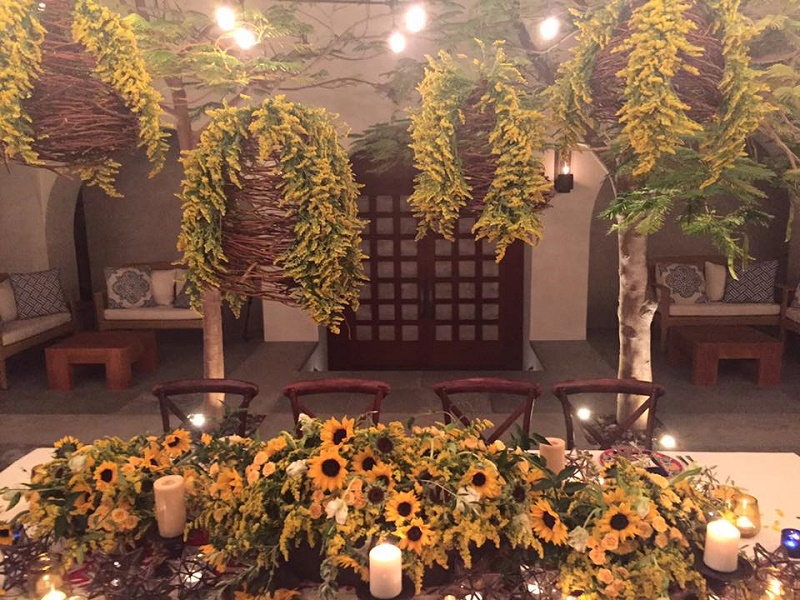 yellow-flowers-birthday-party-celebration-cabo-party-planners-los-cabos-elena-damy