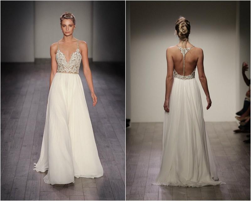 Hayley Paige Bohemian Style Wedding Gowns Elena Damy