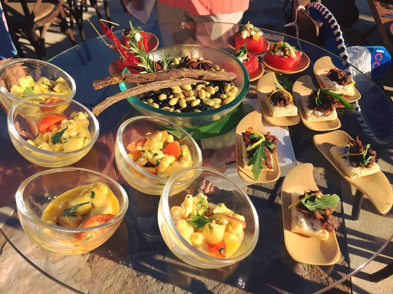 Mexican Food Cabo San Lucas Hors Doeuvres Resort at Pedregal Elena Damy Party Planners