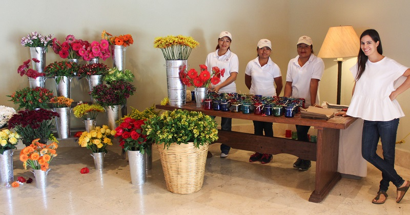 Floral Designer Elena Damy Cabo San Lucas Florists Corporate Events Mexico