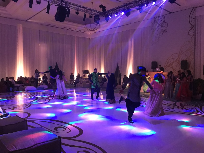 Sangeet Elena Damy Event Lighting