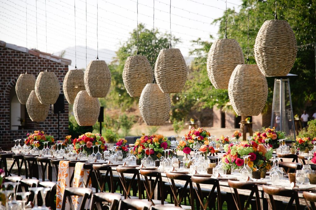 long dinner tables outdoor wedding receptions elena damy cabo san lucas