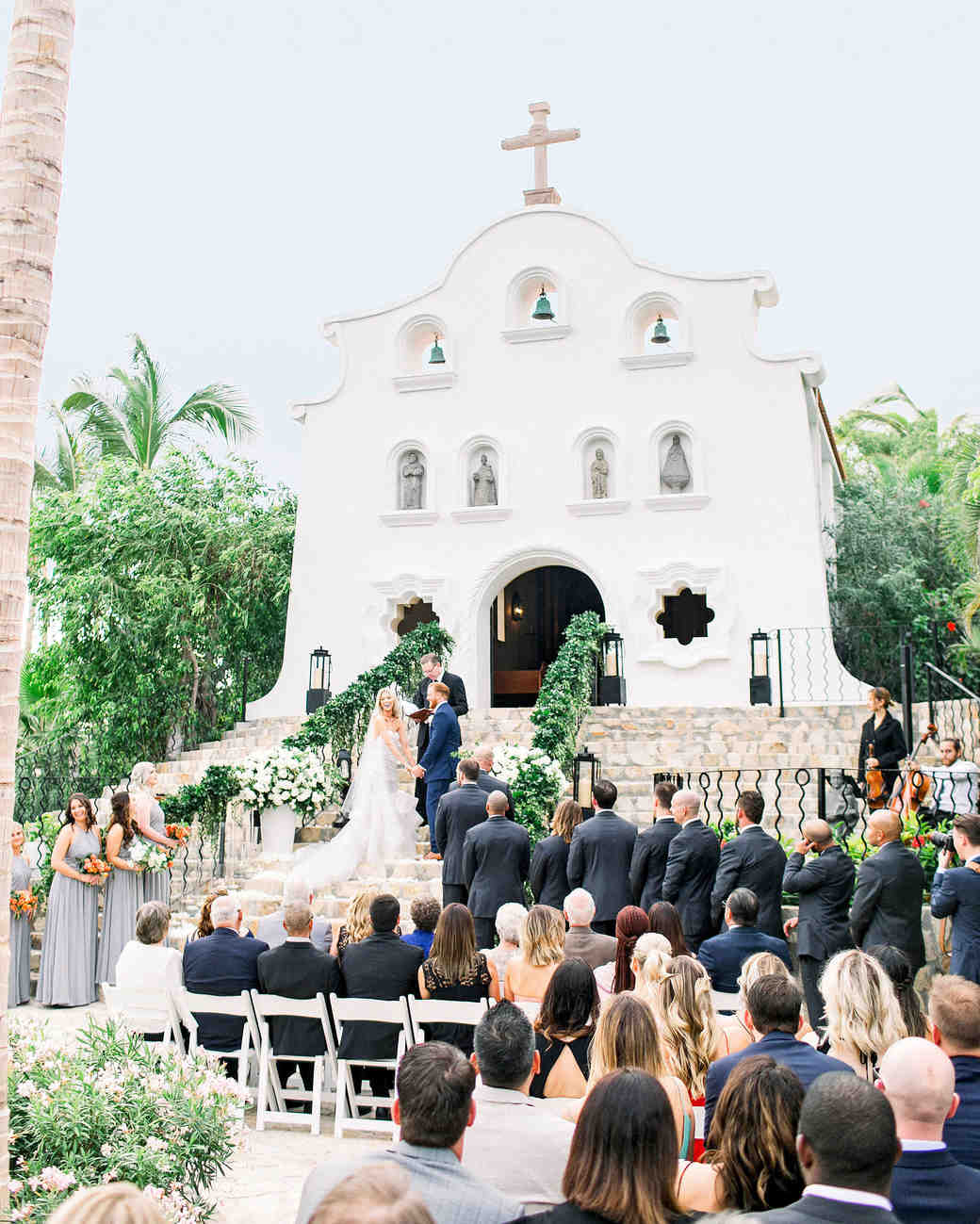 chapel weddings mexico elena damy destination floral designers cabo san lucas Justin Turner Wedding