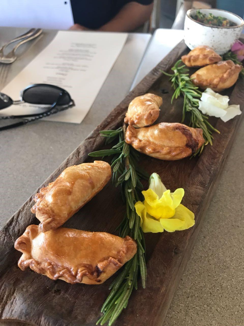 empanadas mexican hors d'oeuvres esperanza resort