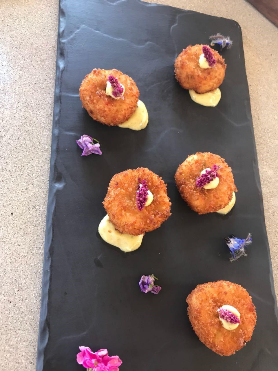 hors d'oeuvres for weddings esperanza menu tasting