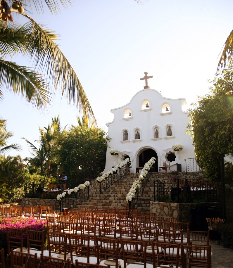chapel weddings mexico palmilla resort wedding ceremony venues elena damy wedding planner