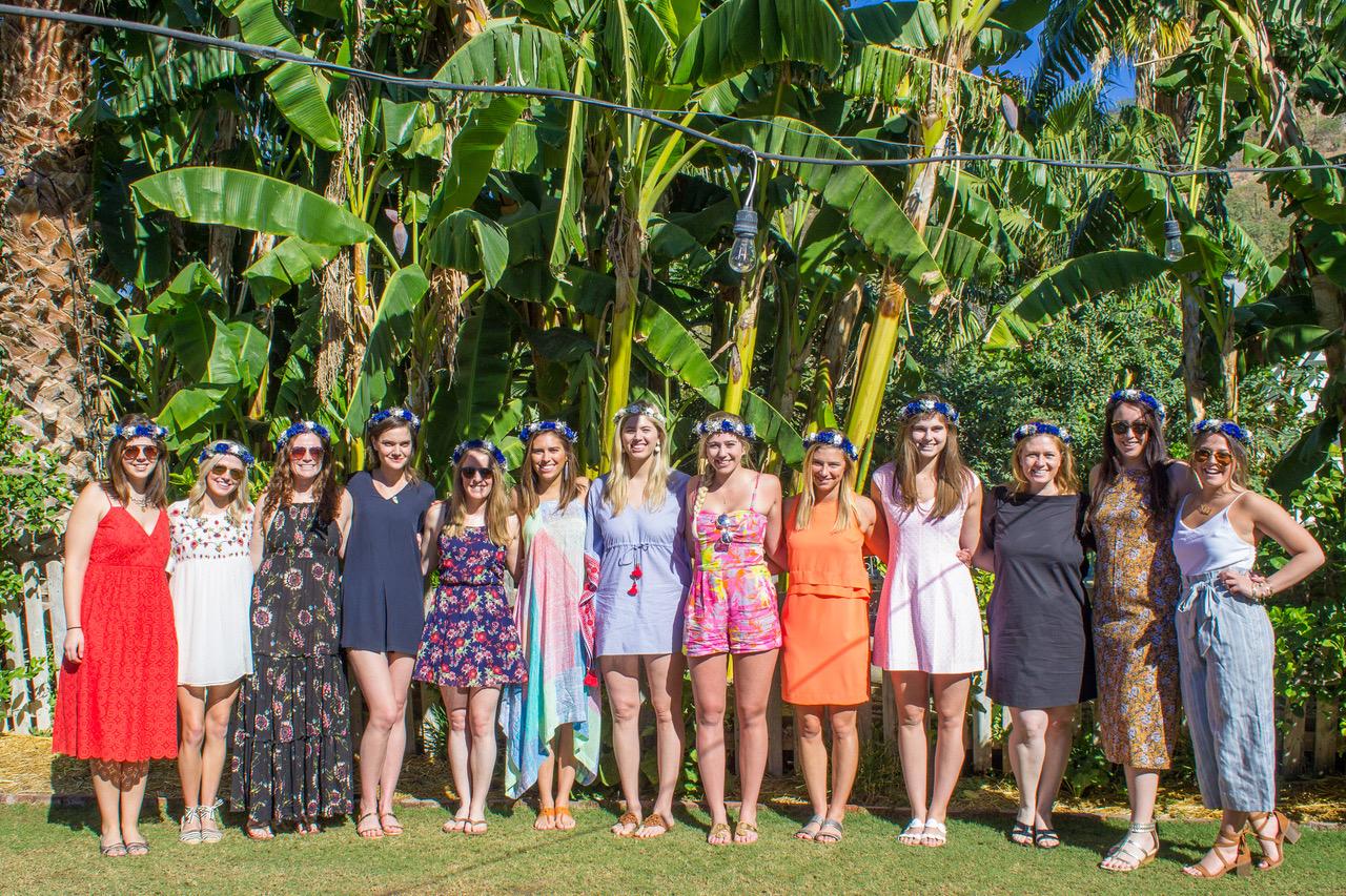 Bridesmaids Luncheon Destination Wedding Planners Cabo Elena Damy