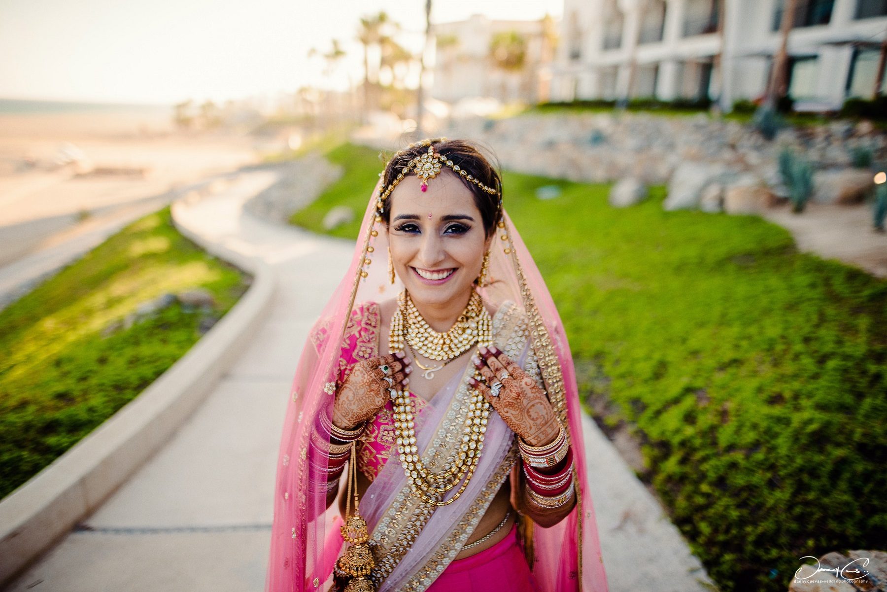 Indian Wedding Ceremony Cabo San Lucas Mexico Wedding Planner Elena Damy
