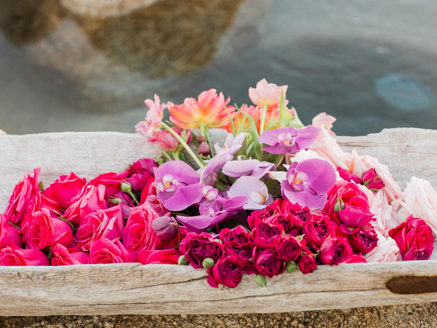 tropical floral arrangements elena damy wedding flowers cabo