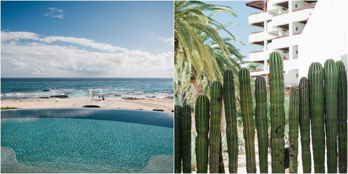 clear ceremony canopy on the beach mexico event design elena damy