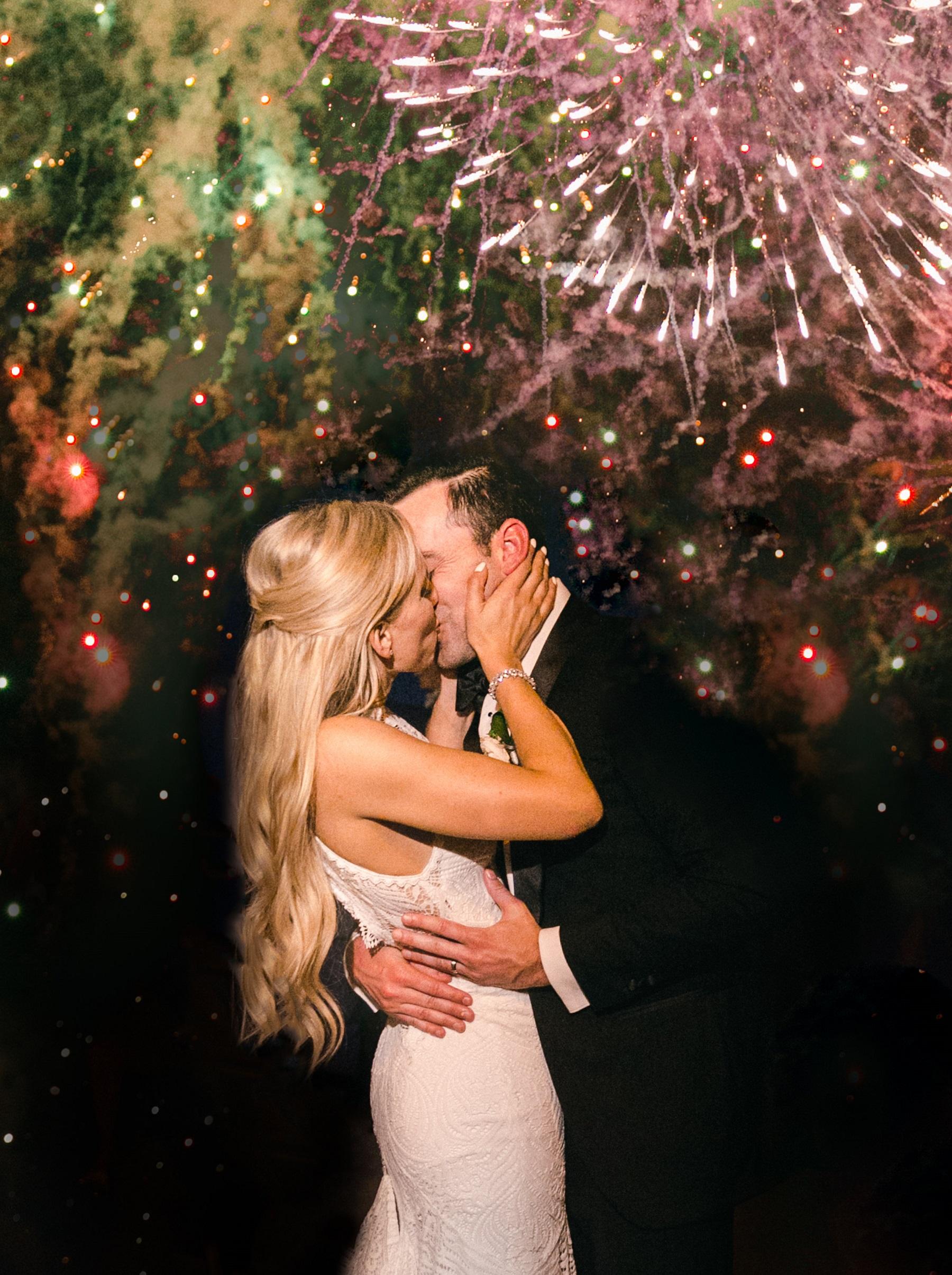 fireworks mexico weddings esperanza resort