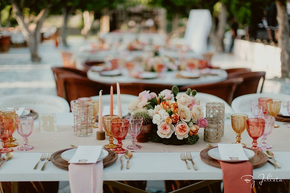 acre baja weddings birthday party elena damy floral design