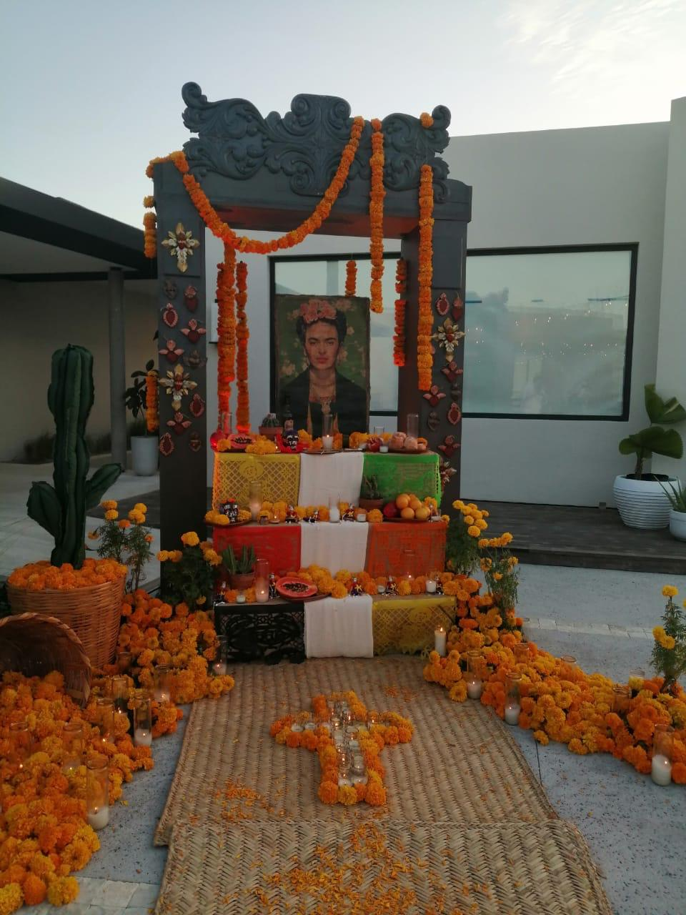 day of the dead decor cabo san lucas event designers