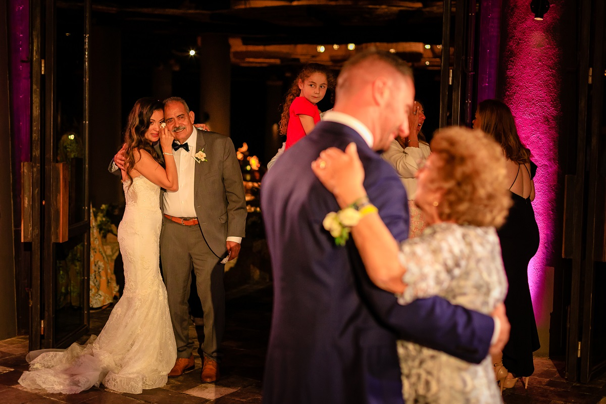 mother son dance cabo weddings