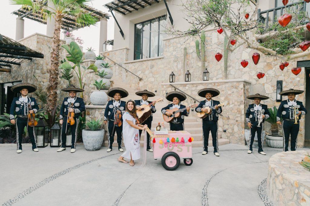 Callejoneada Tequila Parade for Weddings Mexico