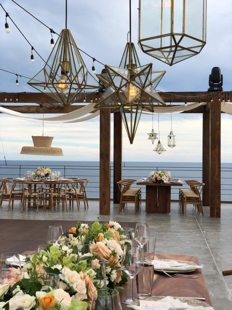 Hanging glass lanterns for weddings mexico