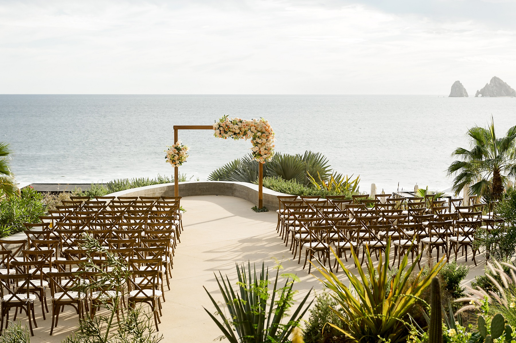 outdoor weddings mexico the cape hotel