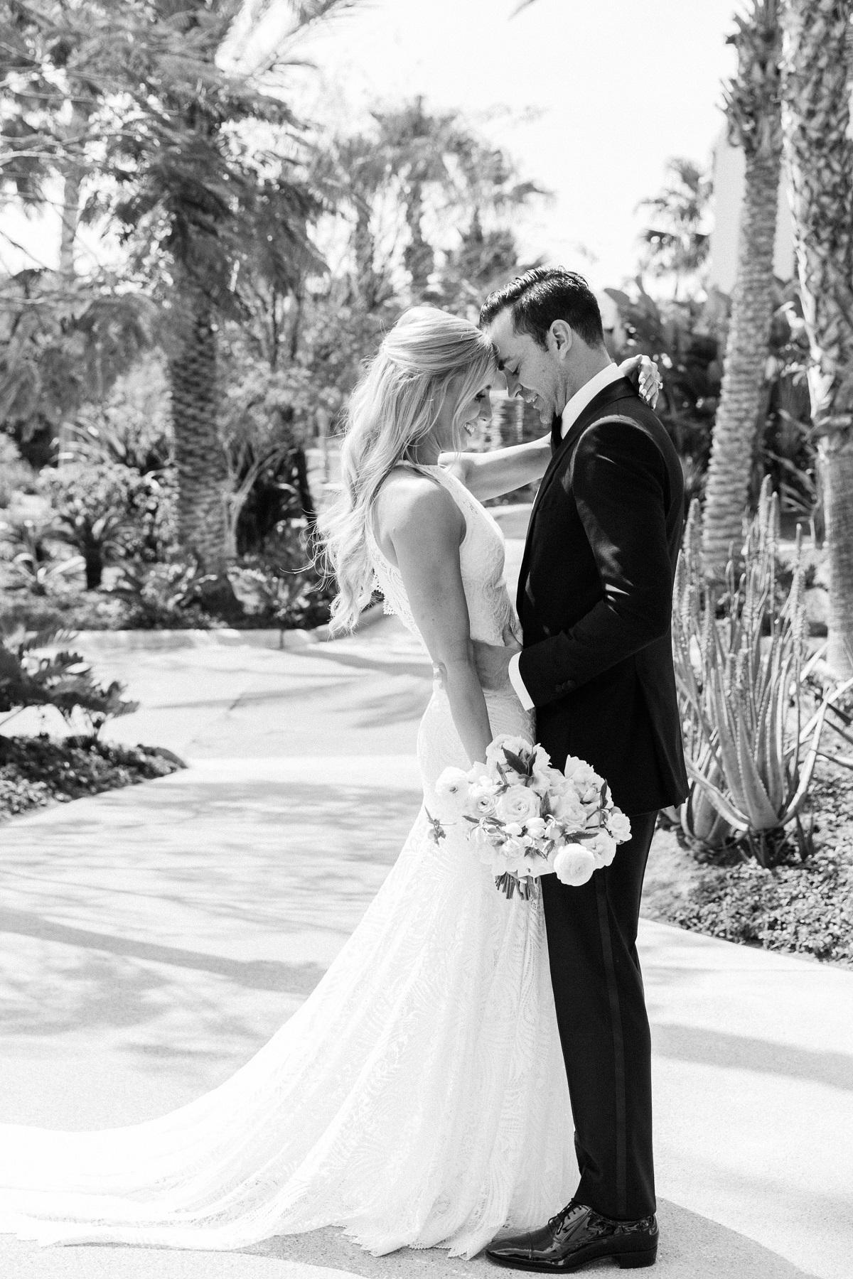 bride and groom esperanza wedding