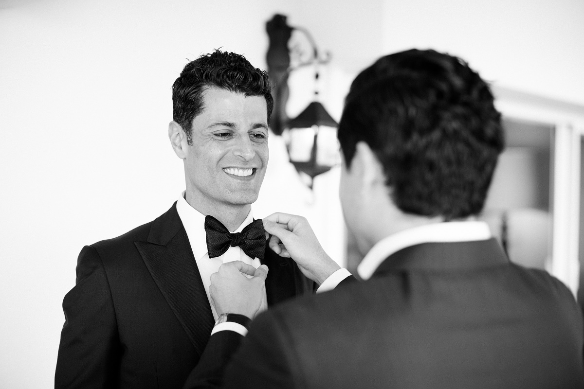groom getting ready cabo weddings
